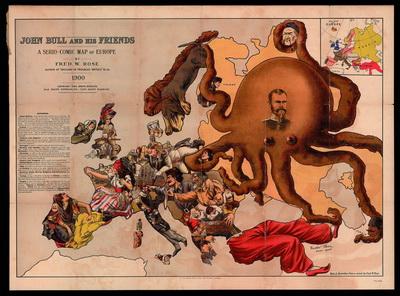 Вот как в 1900 г англичане представляли